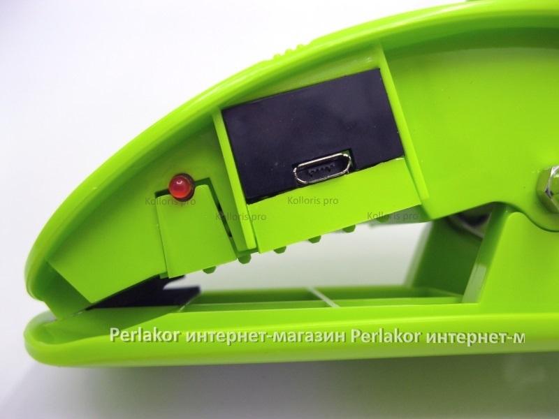 Аккумуляторная светодиодная лампа OP-5868-1 Green аккумуляторная