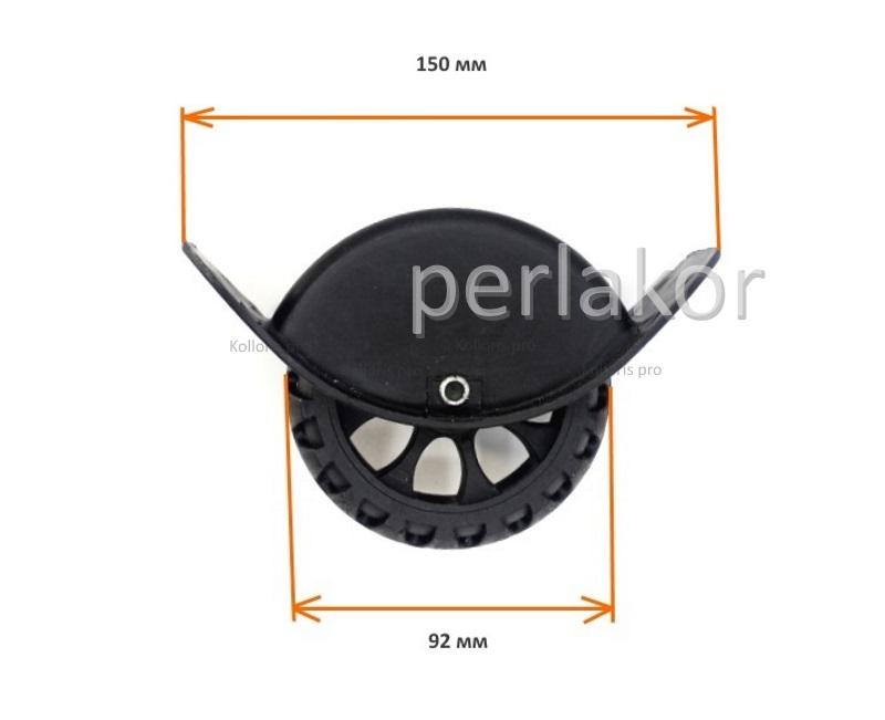 Колеса для ремонта чемодана №10 (92 мм.)