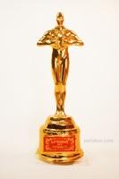 """Подарочная статуэтка Мужская фигура """"Лучший из лучших"""" в коробке."""