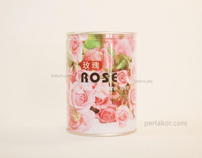 Роза в жестяной банке